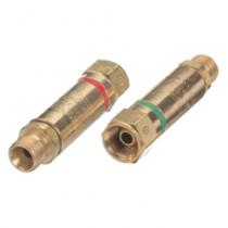 Western Enterprises® FA-30 Flashback Arrestor Set -  Cylinder Gas Oxygen-Fuel Gas -  Regulator Adaptor Style Connection