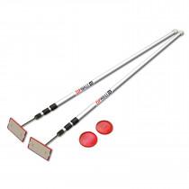 ZipWall® (SLP2) 12' Spring-Loaded Dust Barrier Poles, 2-Pack