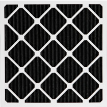 "Air Filter, Pleated, Trisorb III Carbon, 24""x24""x2"""