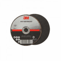 3M™ 051115-66573 High Performance Quick-Change Type 27 Cut-Off Wheel - 4-1/2 in Dia x 0.045 in THK - 5/8-11 - 60 Grit