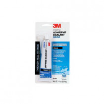 3M™ 5200 Very High Strength Adhesive Sealant 6 per CS -  3 oz Tube -  Medium Paste -  Black -  1.36