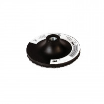 3M™ 9145 Regular Disc Pad Holder - For Use w/ Random Orbital Sanders - Rotary Sanders and Disc Sanders - Black