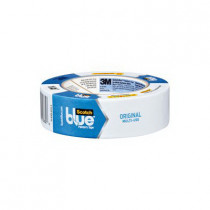 3M™ScotchBlue™ 2090 Painter's Masking Tape - 1.41 in W x 60 yd Roll L - 5.4 mil THK - Clear