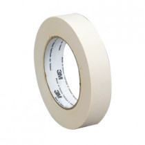 3M™ 2214 General Purpose Masking Tape - 48 mm W x 55 m Roll L - 0.14 mm THK - White
