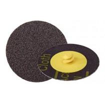 3M™ Roloc™ Disc 361F Coated Aluminum Oxide Quick Change Disc - 36 Grit - 3 Inch Diameter - Cloth Backing