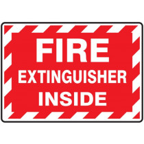 Fire Extinguisher Inside - Label