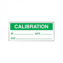 Accuform® LPC422 Production Control Label 25 per PK -  5/8 in H x 1-1/2 in W -  Vinyl -  Green on White