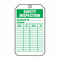 Accuform® TRS315CTP Flexible Safety Tag 25 per PK -  5-3/4 in H x 3-1/4 in W -  PF-Cardstock