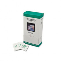 Allegro® 0350 Eyewear Cleaning Wipe 100 per BX -  For Use With Glass or Polycarbonate Lenses -  Non-Woven Cloth -  White