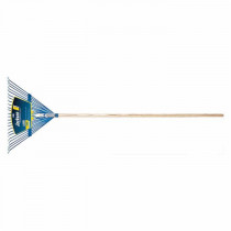 Jackson® 1923700 Leaf Rake -  24 Steel Tines -  Hardwood Handle