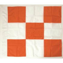 Checkered Airport Flag - 36in X 36in