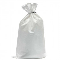 "Polywoven Bags, White, 22""x36"", 1000/Bale, Sold By The Each"