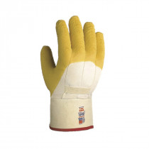 Showa Best® 66NFW-10 Cut-Resistant Gloves -  SZ 10 -  L -  Natural Rubber Palm -  Natural -  Rubber