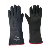 Showa 8814 CharGuard™ Heat Protection Gloves, Black, Size 8 Men's