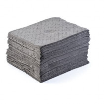"MBT Gray Dimpled Middle Weight Universal Pads, 15""x18"", 100/pk"