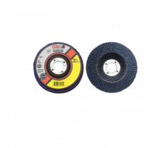 "CGW 42302 Angled Premium Type 27 Flap Disc, 4-1/2""x7/8"", 40 Grit"
