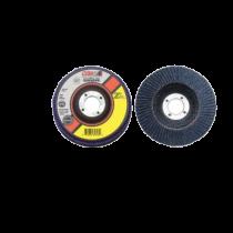 "CGW 42305 Angled Premium Type 27 Flap Disc, 4-1/2""x7/8"", 80 Grit"