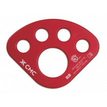 CMC Rescue Aluminum Anchor Plate, Red