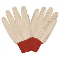 Cotton Canvas Dbl Palm Glove