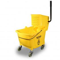 Value-Plus™ Sidepress Wringer and Plastic Bucket Combo