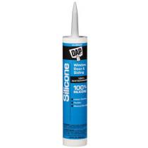 DAP (08643) 100% Silicone Window, Door and Siding Sealant