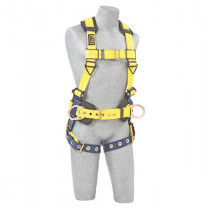 Delta™ II Construction Vest-Style Harness, Front & Back D-Rings, 2XL