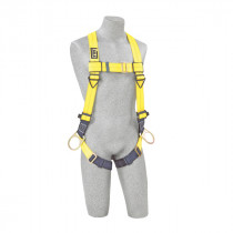 Delta™ Vest-Style Positioning Harness, Pass-Thru Buckle Leg Straps