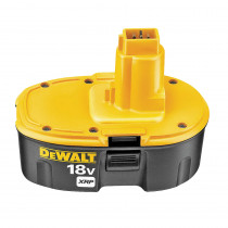DeWALT® DC9096 Rechargeable Cordless Battery Pack -  2.2 Ah NiCd Battery -  18 V (Bare Tool)