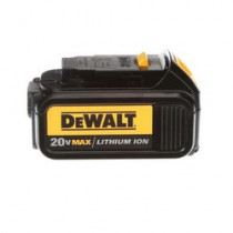 DeWALT® 20V MAX* DCB200-2 2-Piece Compact Slide Cordless Battery Pack -  3 Ah Li-Ion Battery -  20 V (Bare Tool)