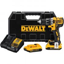 DeWALT® 20V MAX* XR® DCD791D2 Li-Ion Brushless Compact Drill/Driver Kit
