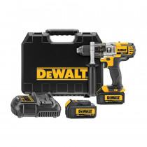 DeWALT® DCD985M2 3-Speed Premium Cordless Hammer Drill Kit -  1/2 in Metal Ratcheting Chuck -  20 V -  Li-Ion Battery