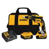 DeWALT® 20V MAX* DCF620M2 Cordless Screwgun Kit -  1/4 in Chuck -  20 V -  Li-Ion Battery -  Plastic Housing