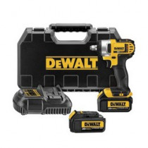 DeWALT® 20V MAX* DCF880HM2 Compact Light Weight Cordless Impact Wrench Kit With Hog Ring Anvil -  1/2 in