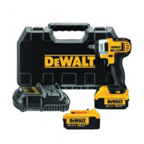 DeWALT® 20V MAX* DCF883M2 Compact Light Weight Cordless Impact Wrench Kit w/ Hog Ring Anvil - 3/8 in