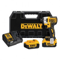 DeWALT® 20V MAX* DCF887M2 Compact Light Weight Cordless Impact Driver Kit -  1/4 in Quick-Release Drive