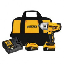 DeWALT® 20V MAX* DCF899P2 Compact Cordless Impact Wrench Kit -  1/2 in Straight Drive -  2400 ipm -  20 V