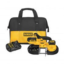 DeWALT® DCS371P1 Cordless Band Saw Kit -  2-1/2 in Cutting -  32-7/8 in L Blade -  20 V -  5 Ah Li-Ion Battery
