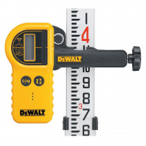 DeWALT® DW0772 Digital Laser Detector With Clamp -  Xenoy -  Yellow/Black