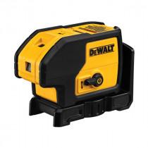 DeWALT® DW083K Electronic Self-Leveling Rotary Laser Level Kit -  100 ft -  +/-1/4 in at 100 ft -  +/-4 deg Auto Leveling