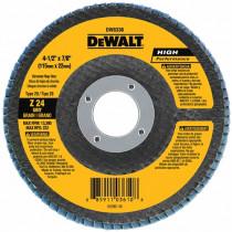 "DeWALT® DW8306 - HP Flap Discs - 4-1/2"" x 7/8"""