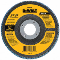 "DeWALT® DW8381H - HP Flap Discs - 6"" x 5/8""-11"