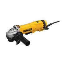 DeWALT® DWE4222N Heavy Duty Small Electric Angle Grinder With Brake -  4-1/2 in Wheel -  5/8-11 UNC (Bare Tool)