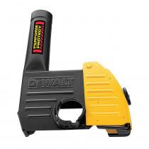 DeWALT® DWE46100 Dust Shroud -  5 in/6 in Dia Wheel -  For Use With Metalworking Grinder -  Plastic -  Black/Yellow