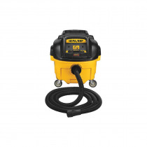 DeWALT® DWV010 Dust Extractor With Automatic Filter Clean -  8 gal -  15 A -  120 V -  Polypropylene Tank Housing