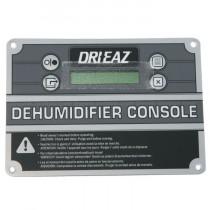 Control Panel Assembly (08-00259) - Dehumidifier Console