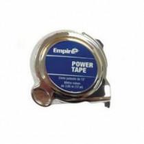 Empire® 612 Ergonomic Measuring Tape -  5/8 in W x 12 ft L Blade -  Nylon Coated Steel -  Inch