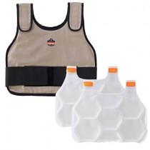 Chill-Its®6230 Standard Phase Change Cooling Vest with Packs