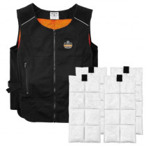Chill-Its®6260 Lightweight Phase Change Cooling Vest with Packs