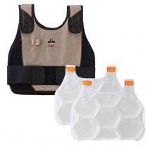 Chill-Its®6215 Premium FR Phase Change Cooling Vest with Packs