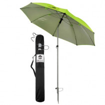 SHAX® 12967 Light Weight Industrial Umbrella -  Steel Frame -  Lime